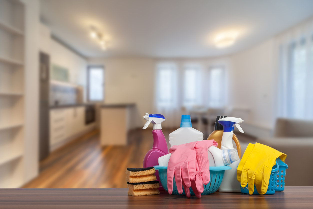 Professional rental property cleaning